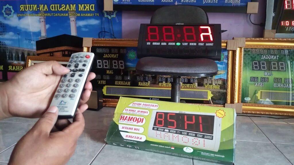 Jam Mushola Digital